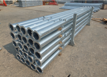Agricultural Irrigation 6 5/8″ welded hot-galvanized Pipe