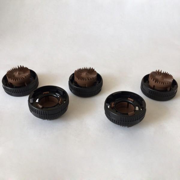 D3000/3030 CAP/PLATE — Коричневая тарелочка